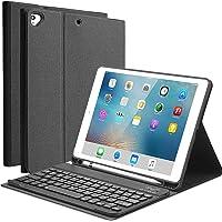 YingStar Teclado con Funda para iPad 9.7 2018 6 Generación/iPad 9.7 2017 5 Generación/iPad Air 1 / iPad Air 2 / iPad Pro…