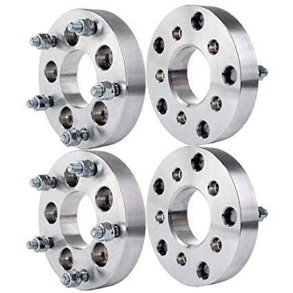 S10 Lug Pattern >> Amazon Com Eccpp 5 Lug Wheel Spacers 1 25 32mm 5x4 75 To 5x4 5
