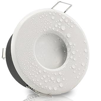 LED Bad Einbauleuchte Feuchtraum Nassraum Dusche Badezimmer IP65 GU10 Halogen