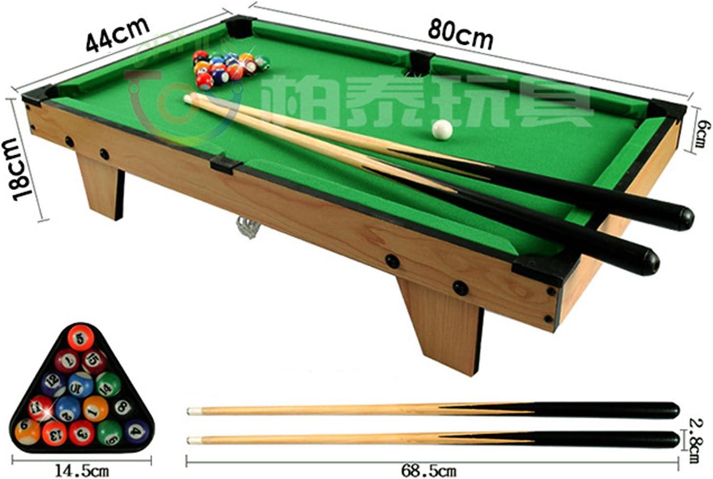 wanderagio pequeña bola de mesa mesa de billar billar Home juego de billar juegos, verde, large: Amazon.es: Deportes y aire libre