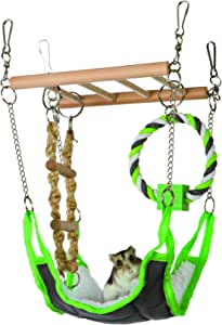 Trixie Pet Products 6298 Suspension Bridge, Green, 17 x 22 x 15cm