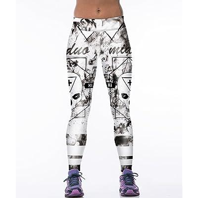 7TECH Women's Professional Fitness Yoga Stretch Pants Printed Leggings Average Size