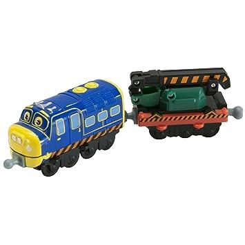 Chuggington - Brewster Aprendiz y vagón Excavadora (Tomy LC54125): Amazon.es: Juguetes y juegos