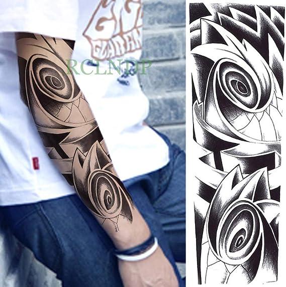 Etiqueta engomada del tatuaje a prueba de agua Cruzado Ojos de ...