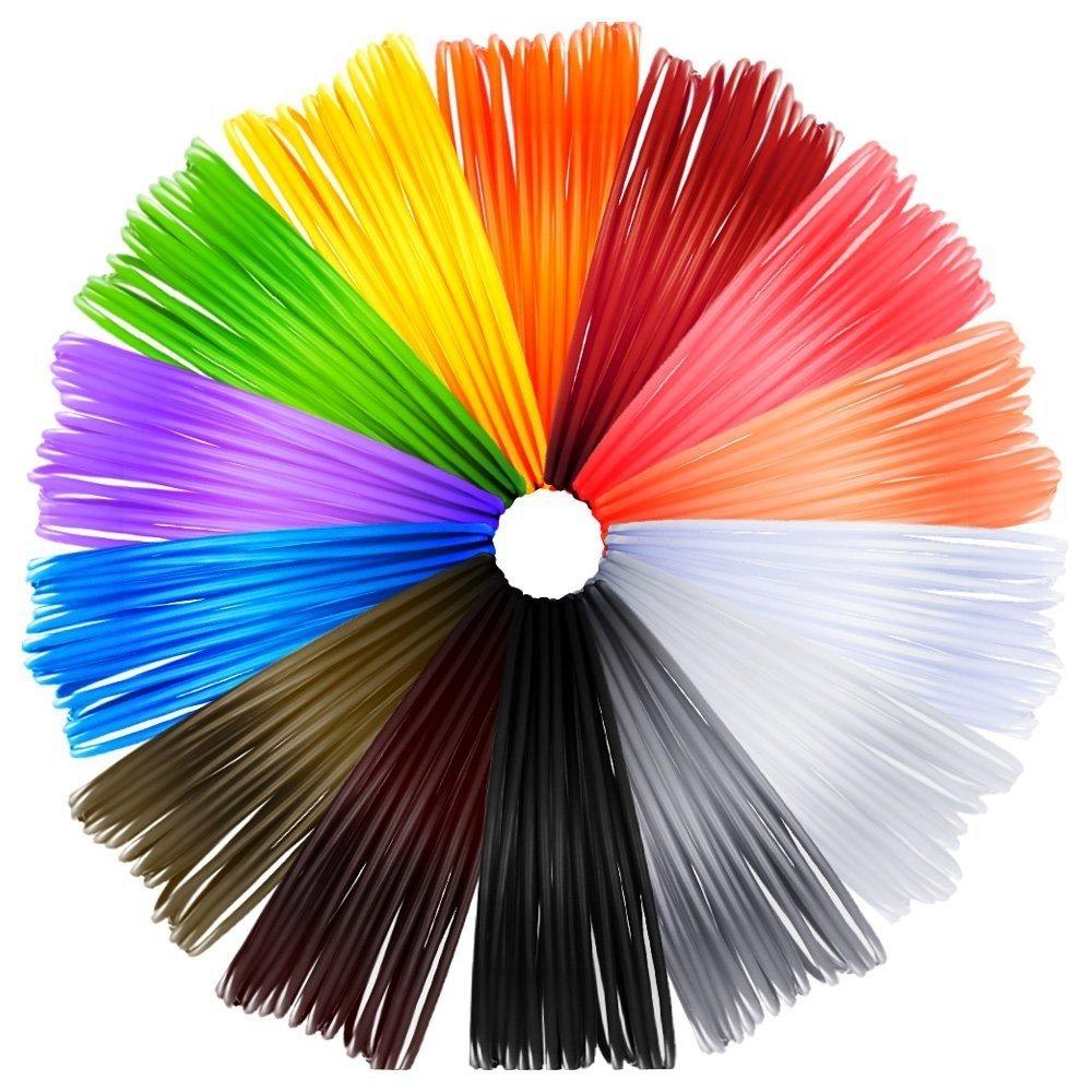 TrendingTemple 14 Filamentos Colores para Impresión con Pluma 3D ...