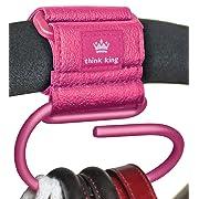 Think King Jumbo Swirly Hook, Pink