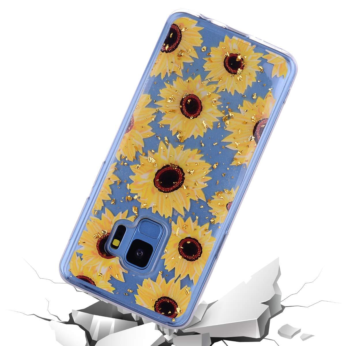 Karomenic Silikon H/ülle kompatibel mit Samsung Galaxy S9 Plus Gl/änzend Bling Glitzer Schutzh/ülle Weiche TPU Durchsichtig Handyh/ülle Crystal Klar Transparent Tasche Case Bumper Schale Liebe Eule