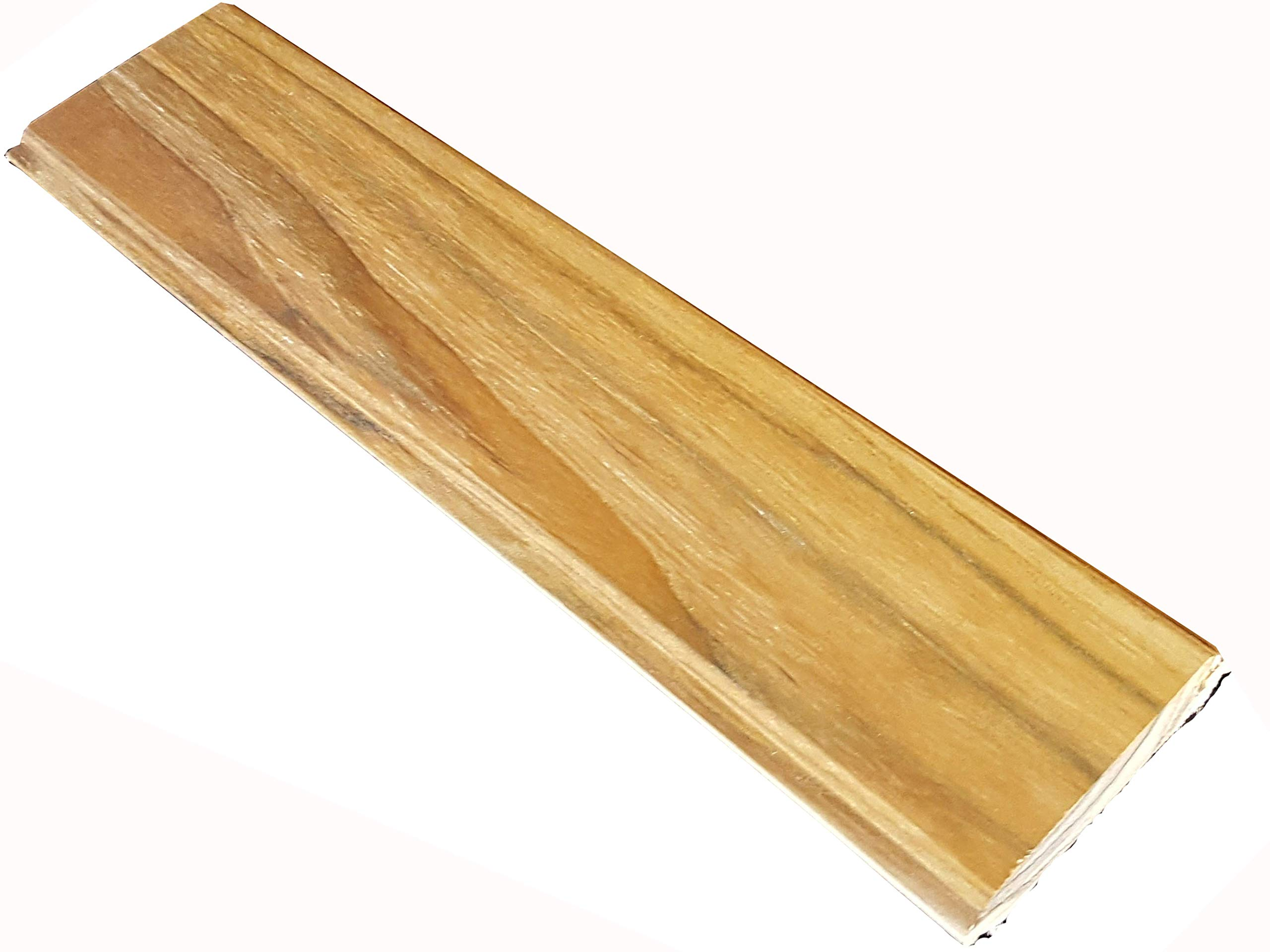 60 inch long TEAK WOOD Tongue & Groove - 100% heartwood, 40 square feet by Diamond Tropical Hardwoods