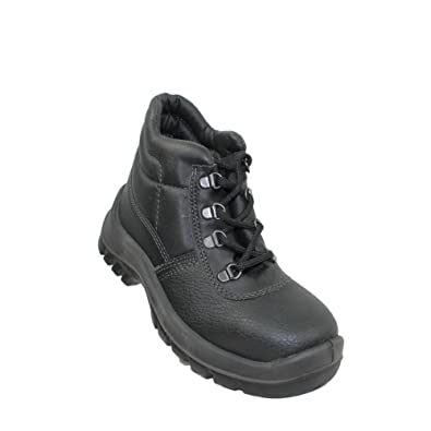 TuF S1 SRC Sicherheitsschuhe Arbeitsschuhe Berufsschuhe Businessschuhe  Trekkingschuhe hoch Schwarz: Amazon.de: Schuhe & Handtaschen