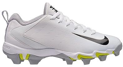 size 40 b17f7 75504 Nike Kids  Vapor Shark 3 Football Cleats (1, White Black Grey