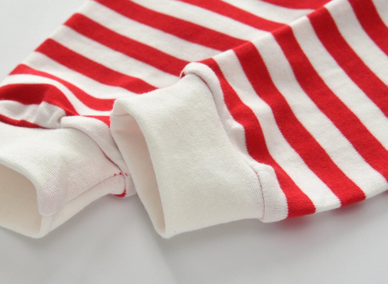 CNBABY Baby Boys 2-Piece Santa Claus Coat, Pants (4 Toddler)