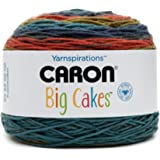 Caron Big Cakes Self Striping Yarn ~ 603 yd/551 m/10.5oz/300 g Each (Cornucopia)