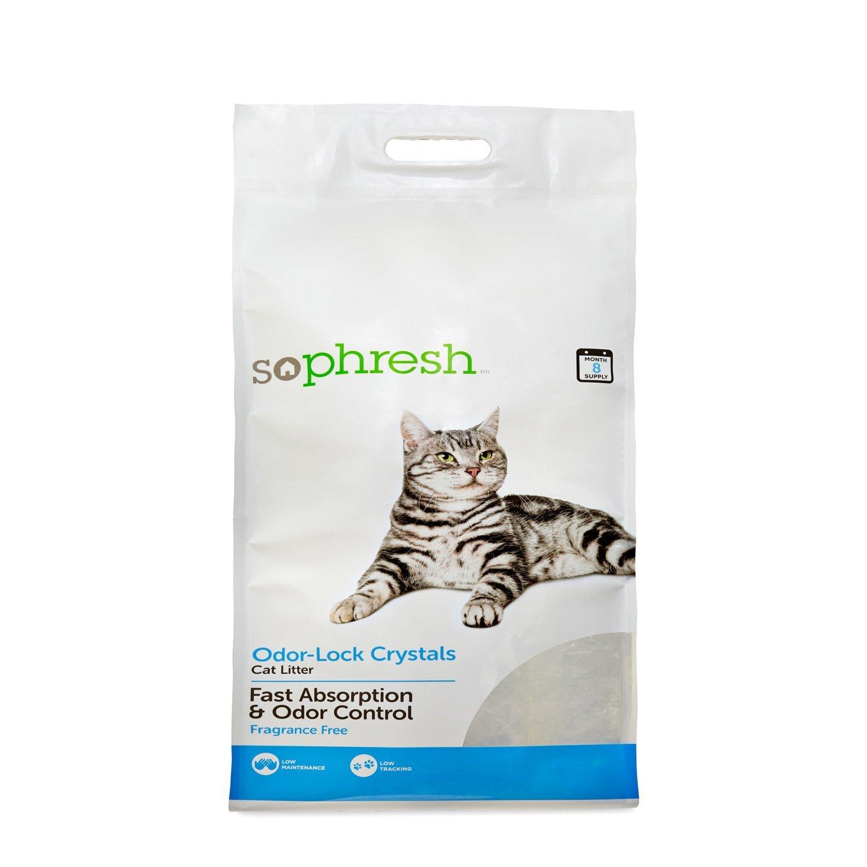 So Phresh Odor-Lock Crystal Cat Litter, 30 lbs. by So Phresh (Image #1)