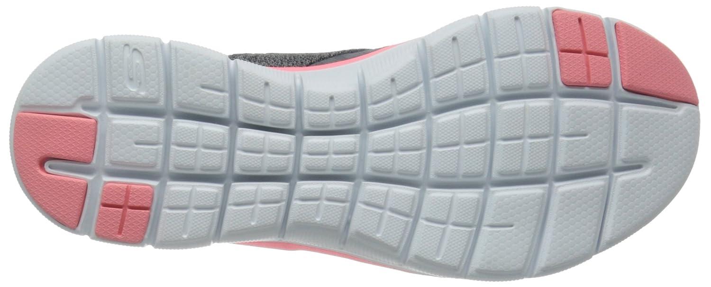 Skechers (Cccl) Damen Flex Appeal 2.0 New Image Sneakers Grau (Cccl) Skechers 744cf5
