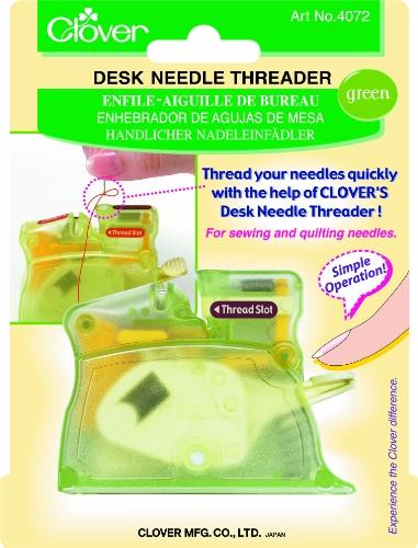 Green Needles (Clover Desk Needle Threader,)