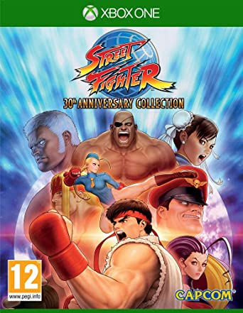 "Résultat de recherche d'images pour ""street fighter 30th anniversary collection xbox cover"""