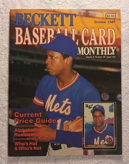 Dwight Gooden New York Mets Beckett Baseball Card