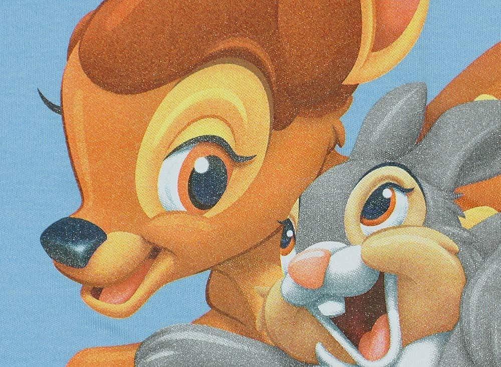 80-86 Disney UNGEF/ÜTTERT mit Druck-Kn/öpfen und Bein-Freiheit mit Bambi und Klopfer 68-74 Bambi Baby- und Kinder- Sommer-Schlafsack /ÄRMELLOS aus Baumwolle GR/ÖSSE 56-62