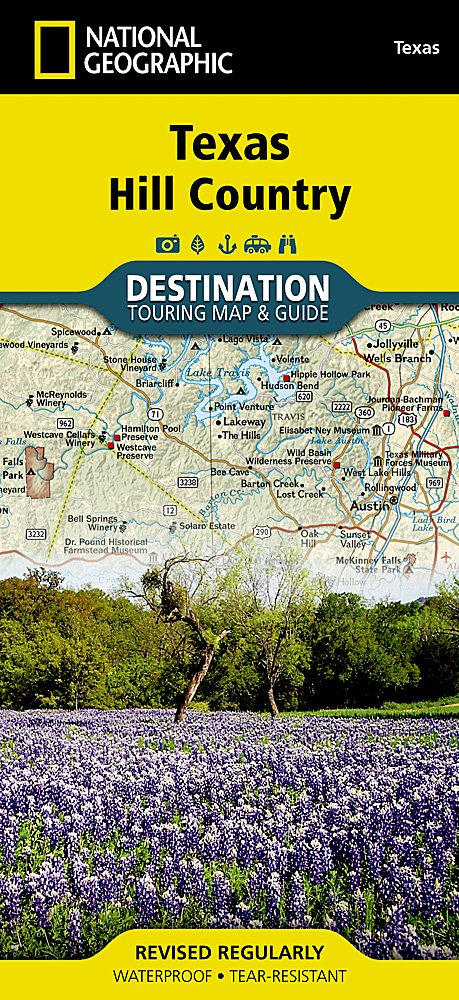 Texas Hill Country (National Geographic Destination Map): National ...