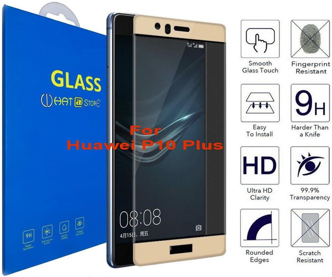 Huawei P10 Plus - Curvo 3D Cristal Templado Protector de Pantalla ...