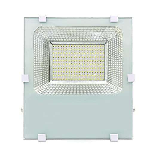 LineteckLED -BS-E100W - Proyector LED SMD Slim blanco 100 W IP66 ...