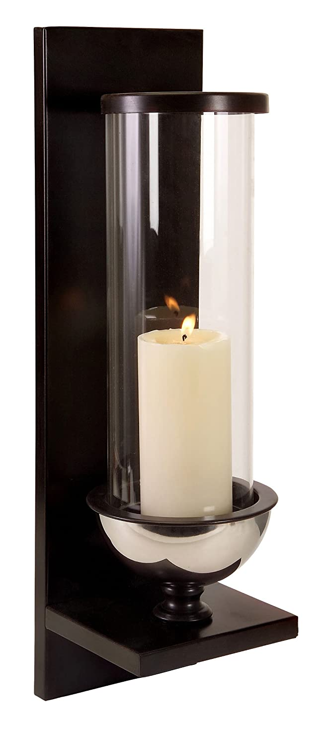 Small candle wall sconces images home wall decoration ideas shop amazon candle sconces imax 56075 silver metal and glass wall sconce amipublicfo images amipublicfo Gallery