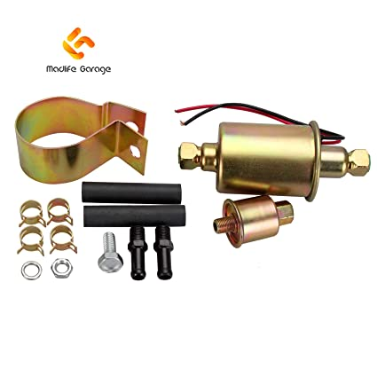 amazon com madlife garage universal 5 9 psi heavy duty low pressure Fuel Pump Harness Connector Problems madlife garage universal 5 9 psi heavy duty low pressure electronic fuel pump with installation