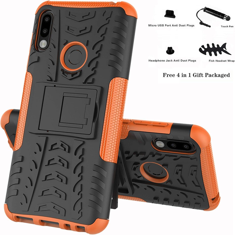 ZB631KL Coque M2 M2 Etui Housse Coque Shockproof Robuste Impact Armure Hybride B/équille Cover pour ASUS Zenfone Max Pro - Bleu Labanema Zenfone Max Pro 4 en 1 Cadeau emball/é ZB631KL