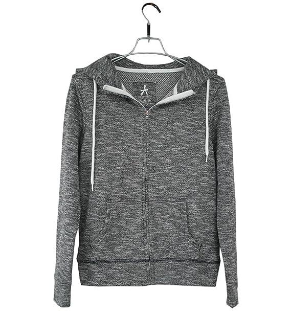 622e2855fb COCO clothing Basic Sportivo Felpe con Cappuccio Donna Giacche Manica Lunga  College Giacca Casual Tops Jacket Cappotti: Amazon.it: Abbigliamento