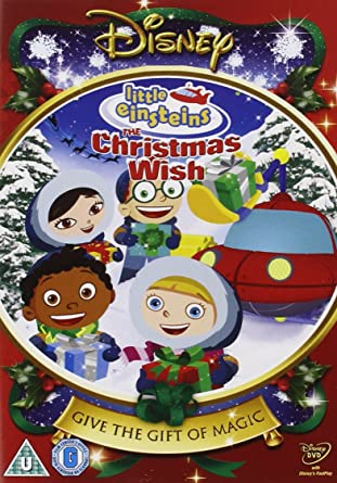 Little Einsteins: A Christmas Wish Reino Unido DVD: Amazon.es: Little Einsteins-a Christmas W: Cine y Series TV
