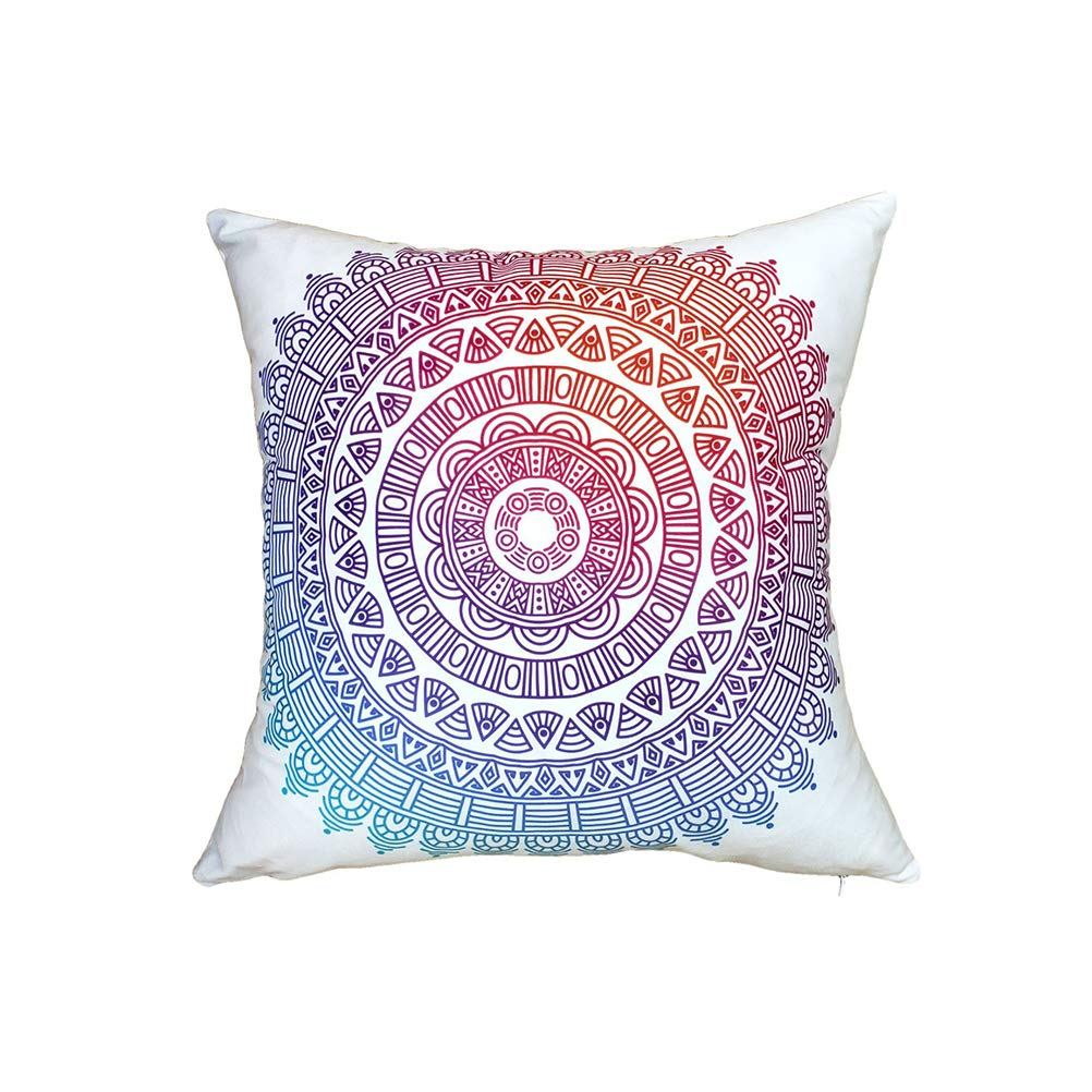 JOYOOY Throw Pillow Case Creative Cushion Cover Square Pillow Protector for Car Living Room Bedroom 4 Pcs