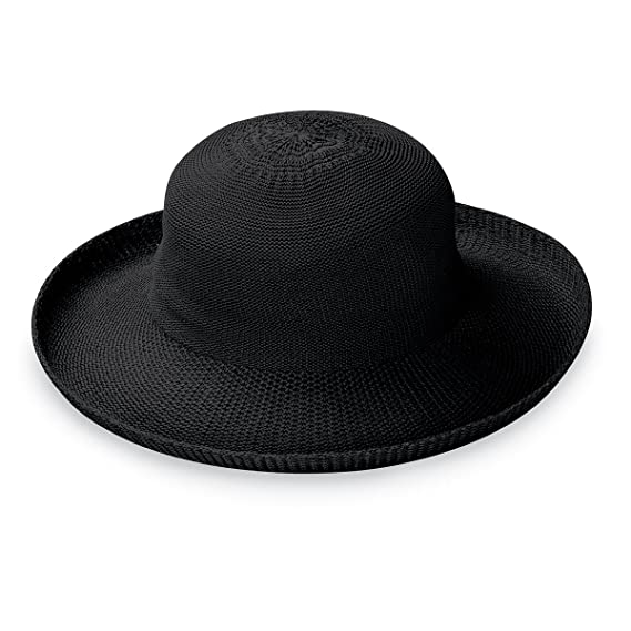 037f32aaf Wallaroo Hat Company Women's Petite Victoria Sun Hat – Ultra-Lightweight,  Packable, Modern Style, Designed in Australia