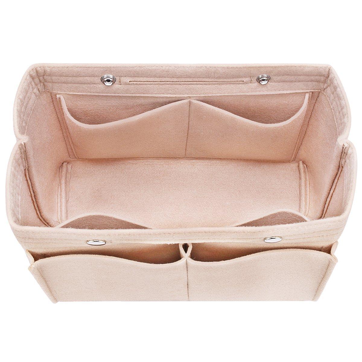 0e831aec071 Top1  Felt Insert Bag Organizer Bag In Bag For Handbag Purse Tote Diaper  Bag