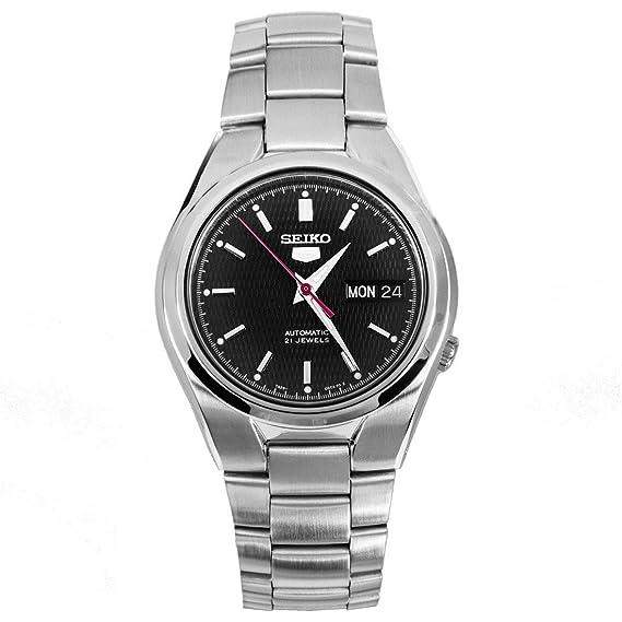 Seiko Reloj Analógico Automático para Hombre con Correa de Acero Inoxidable - SNK607K1: Seiko: Amazon.es: Relojes