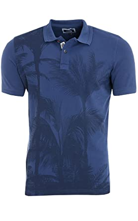 b752c31352a8f9 CARISMA Polo Shirt Herren Polo-Shirt Business Blau mit Kentkragen ...