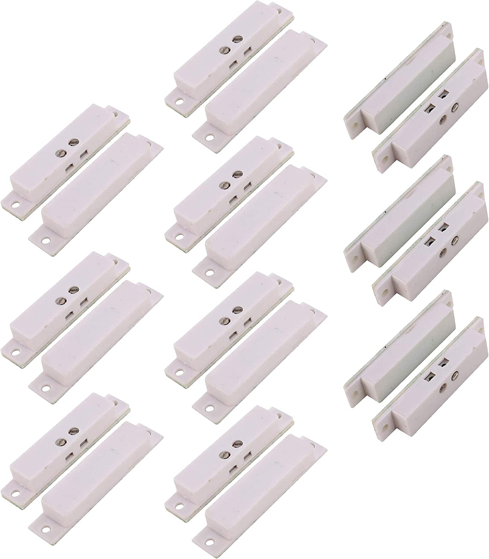 Terminal Honeywell Security Alarm System Contact Sensor white rectangle alarm