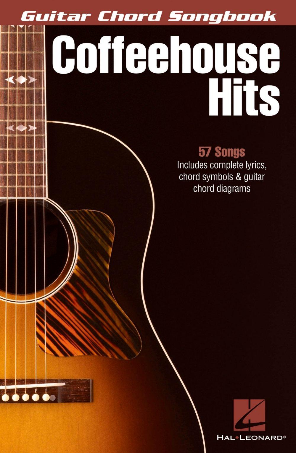 Amazon Hal Leonard Coffeehouse Hits Guitar Chord Songbook