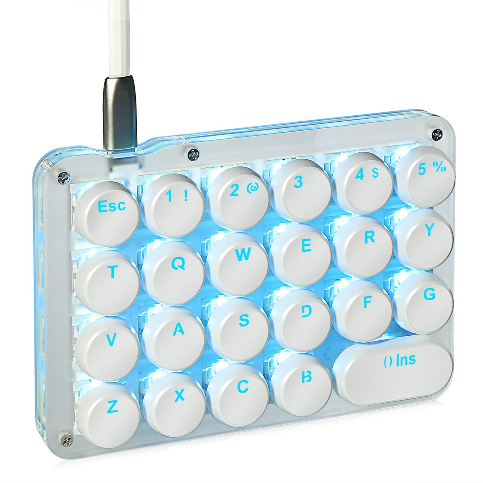 Koolertron one handed macro mechanical keyboard