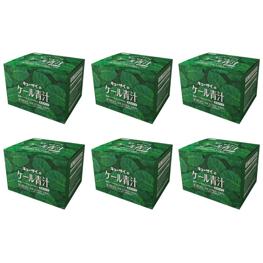 キューサイ青汁30包(粉末タイプ)6箱まとめ買い/国産ケール100% (7g×30包) B017S4IZGG
