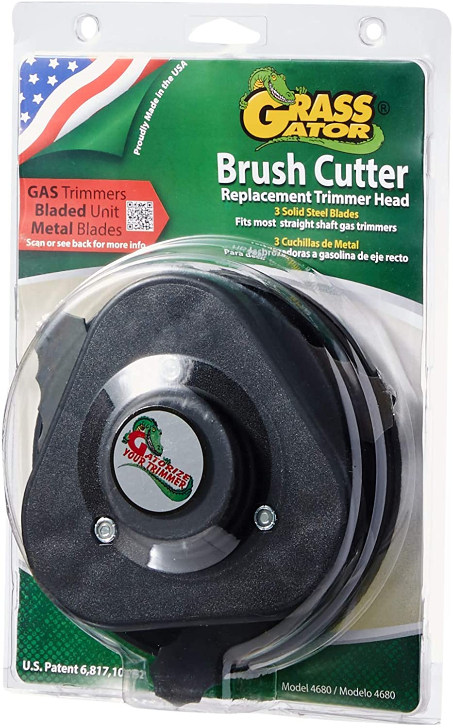 Grass Gator 4680 Brush Cutter Extra Heavy Duty Replacement Trimmer Head