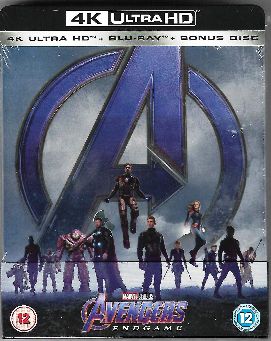 Avengers Endgame 4K Ultra HD Limited Edition Steelbook / Import / Includes 2D Region Free Blu Ray: Amazon.es: Cine y Series TV