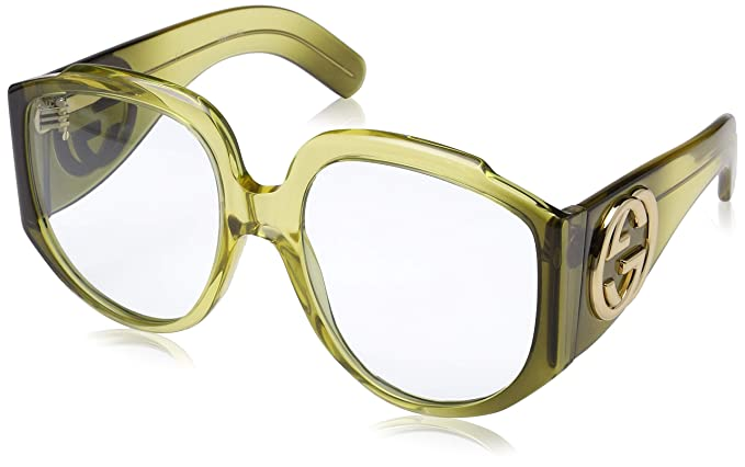 Gucci GG0151S 002, Gafas de sol para Mujer, (Multicolor/Light-Bluee), 61