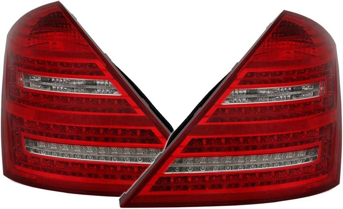 Led Rückleuchten Set In Rot Weiß Auto