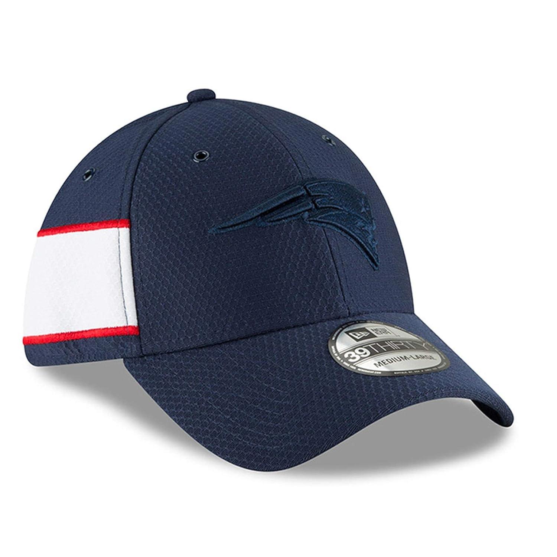 New Era 39Thirty Cap Sideline Graphite New England Patriots