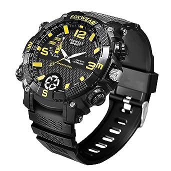 LYXPUZI Reloj Elegante, Deporte SmartWatch rastreador de ...