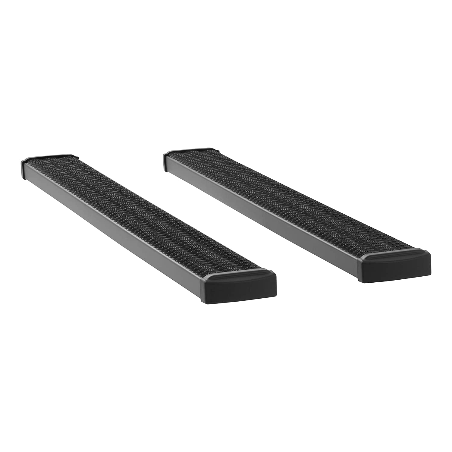 F-350 LUVERNE 415078-409922 Grip Step Black Aluminum 78-Inch Truck Running Boards for Select Ford F-250 F-450 F-550 Super Duty