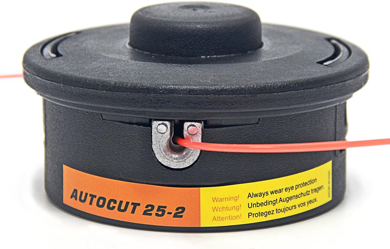 Signswise cabezal afeitadora para Stihl Autocut Go 25 – 2 Fs44 ...