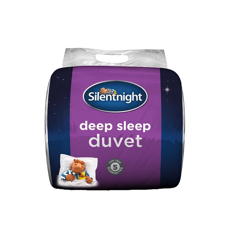 (Double, 10.5 Tog) Silentnight Deep Sleep Duvet, 10.5 Tog, White, Double B075X1QXK6
