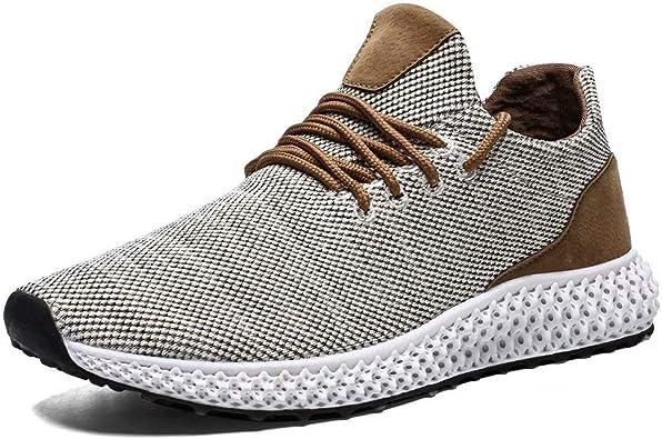 Socviis - Zapatillas de Running para Hombre, Antideslizantes ...