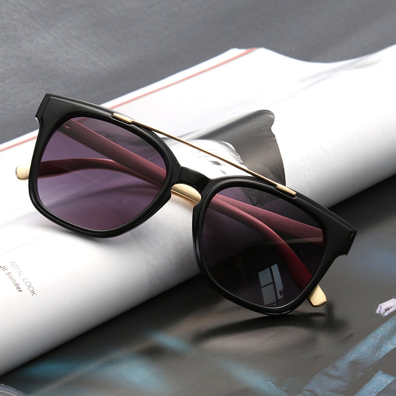New Fashion Sunglasses unisex box sunglasses metal legs sunglasses M16976